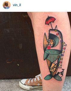 Vinil - Ylenia Manzoni whale tattoo