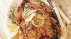 Three-Lemon Chicken (WHOLE): Recipe Courtesy of Jamie Purviance and Sanda S. McRae