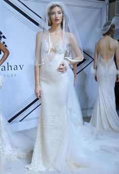 Sexy Galia Lahav Wedding Dresses Are Inspired by the Jazz Age for Spring/Summer 2015 | TheKnot.com