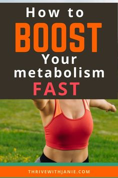 Is your metabolism slow and sluggish, keep you feeling bloated, and maybe overweight. Learn the secrets to boosting your metabolism to start looking and feeling great too. Boost your metabolism quickily Ways To Lose Weight, Weight Gain, Weight Loss, Slow Metabolism, Boost Your Metabolism, Feeling Great, How Are You Feeling, Natural Lifestyle, Healthy Habits