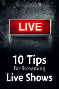 #Periscope and #Blab have brought fresh attention to live-streaming. These tips will help you host a better live show regardless of what technology you use.  #podcasting