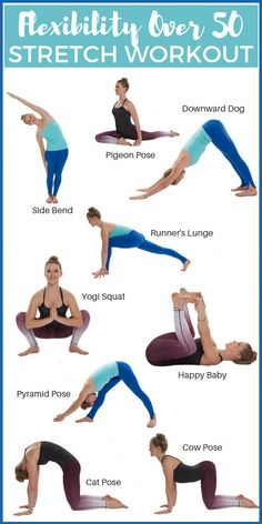 Aging comes with a whole host of unpleasant issues Use these tips stretches to regain flexibility over 50 start feeling like your younger self again flexibility stretching fitness workout # Fitness Workouts, Yoga Fitness, Fitness Motivation, Sport Fitness, Physical Fitness, Fitness Tips, Health Fitness, Exercise Motivation, Enjoy Fitness