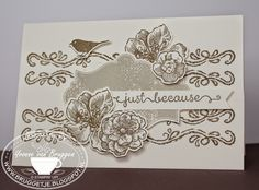 Yvonne is Stampin' & Scrapping: Stampin´ Up! chalk lines and Everything Eleanor card
