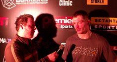 Video: Joseph Duffy Cage Warriors Fighting Championship 70 Post-fight Interview | TalkingBrawlsMMA.com