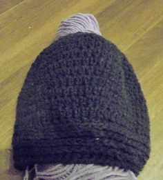 Buy Crocheted/Knitted Messy Bun Hat (Small/Pre-teen). Handmade by creative people crafting through DISABILITIES or CHRONIC ILLNESS