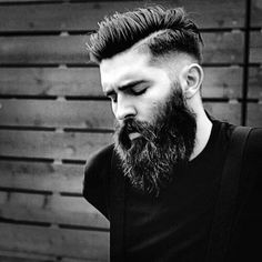 Hairstyles For Men With Beards