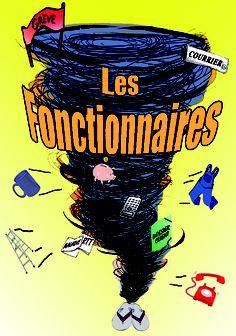 """Spectacle d'humour """"Les Fonctionnaires""""."""