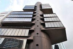 丹下健三 Kenzo Tange 静岡新聞・静岡放送東京支社ビル - 1967