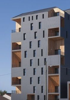 52 logements, Bassins à flot, Bordeaux/ Leibar-Seigneurin Architectes