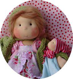 Handmade Waldorf dolls
