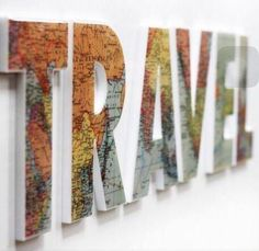 """Travel"" with maps of places you've been"
