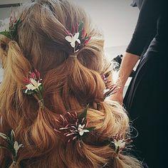 Carolina Herrera Spring 2016 hair