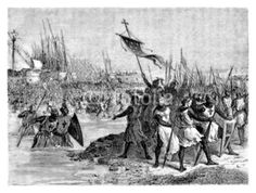 Crusaders - Croisés - Kreuzzüger - 13th century
