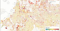 So Cool.. Every Building In Brooklyn, Mapped Out By Age | Co.Design: business + innovation + design