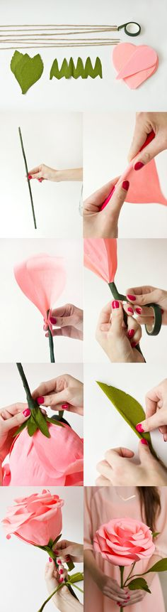 green crepe paper scissors tape or glue and strong wire