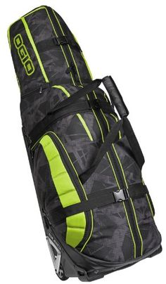 Ogio Monster Golf Travel Bag in Acid Golf Travel, Travel Luggage, Travel Bag, Ogio Golf Bags, Golf Gadgets, Shopping Catalogues, Golf Lessons, Golf Accessories, Play Golf