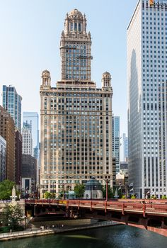 Chicago. Tribune Tower. Equidible Building. Michigan Ave. My twenties.