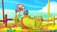 Verne on vacation by Sylvain MARC /Polyminthe. This is a mini-pilot I created in 2009 for Cartoon Network development studio Europe. It was produced in 3 months and won the 2010 Pulcinella award for best TV pilot.