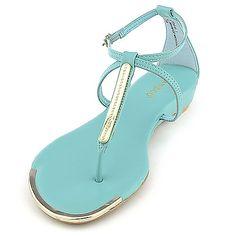 b9650a16a Bamboo Womens Lottie-51. Blue Sandals ...