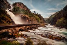 Spring runoff by Cinematic Photography (Norway)