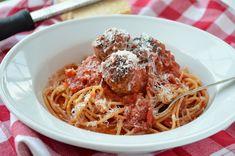Vegetarian Spaghetti and Wheatballs — Three Many Cooks