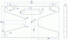 Bobina de cabo de extensão portátil - Desenho 2D