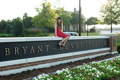 Meghan Neil's Graduation Cap and Gown Pictures || The University of Alabama