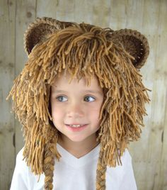 Lion Wig Halloween Costume Lion Hats Costumes for Kids by YumbabY