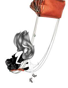 Undeniably Glamorous Fashion Illustrations - Mind blowing Laura Laine