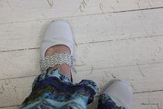 Maison Decor: Louis Blue on my suede shoes