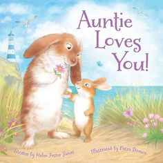 Bunny love  picture book: Auntie Loves You to be published by @sleepingbearpress September! #helenfosterjames #sleepingbearpress #childrensbooks #illustration #rabbits #love #
