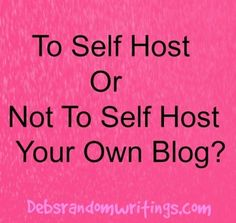 Self-Hosting A Blog - What I Have Learned As A New Blogger