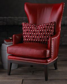DONOVAN RED WING CHAIR traditional chairs