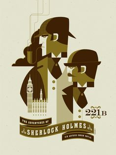 The Adventures of Sherlock Holmes poster.