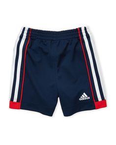 Adidas (Toddler Boys) Athletic Side Stripe Shorts