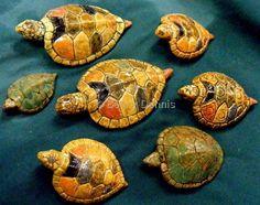Becky Dennis - rainbow turtle rattles