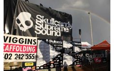 Event Signage for Skullcandy Groms Surfing event. For more event signage solutions  visit - http://www.kawanasigns.com.au/services