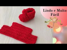 ZAPATOS EASY CROCHET - YouTube Crochet Baby Clothes, Crochet Shoes, Crochet Art, Easy Crochet, Crochet Patterns, Baby Cocoon Pattern, Chrochet, Baby Booties, Arm Warmers