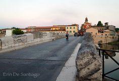 """""""Cars and pedestrians still use Tiberius Bridge today"""" - """"Ponte di Tiberio (Tiberius Bridge) in Rimini: One of Italy's Oldest Roman Bridges"""" by @poohstraveler"""