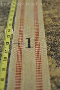 Burlap Growth Chart | Fabulessly Frugal: A Coupon Blog sharing Amazon Deals, Printable Coupons, DIY, How to Extreme Coupon, and Make Ahead Meals