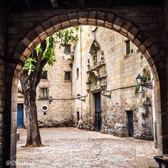 Plaça de Medinaceli. Barri Gòtic, Barcelona.
