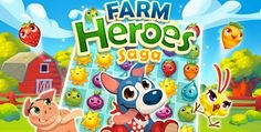 King brings match-three game Farm Heroes Saga to iOS, Android Free Android Games, Free Games, Bubble Witch, Candy Crush Saga, Smartphone, New Farm, Apps, Farm Hero Saga, Android Apk