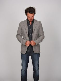 I love this outfit.. casual but put together...the boys might look good in this!
