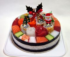 8 Awesome Christmas Sushi Ideas   Web Cool Tips