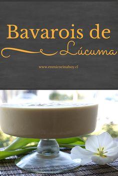 Delicioso postre con el sabor inconfundible de la lúcuma. Lo puedes preparar el día antes.