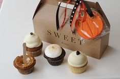 Cupcakes from SWEET (Mass Ave, Boston)....DELISH.