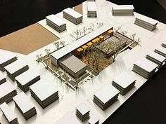 Project shows Ataşehir and maps show Ümraniye - Arkitera Concept Models Architecture, Architecture Model Making, Library Architecture, Architecture Portfolio, Architecture Design, Architecture Visualization, Door Design, Exterior Design, Hospital Design