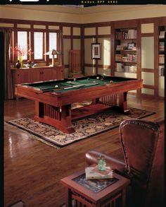 Brunswick Mission Pool Table