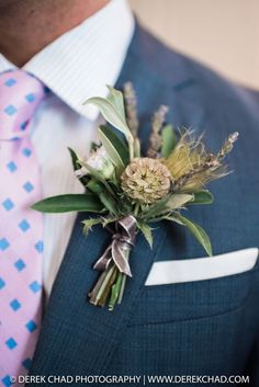 Boutonniere by Isari