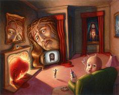 """Art of Mark Bryan, """"Too much Jesus"""""""